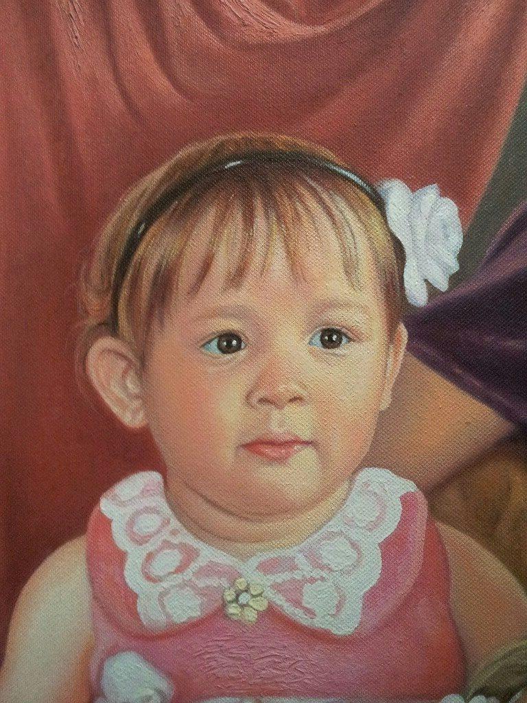 Портрет маслом семейный Уфа