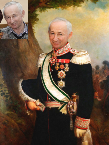 Где заказать исторический портрет по фото на холсте в Уфе?