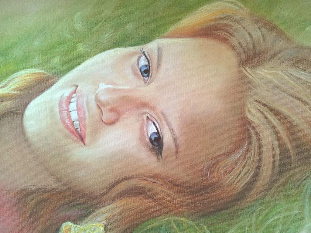 Заказать портрет для девушки