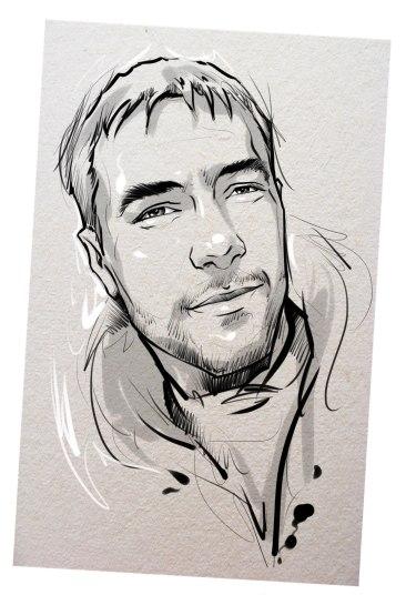 Портрет карандашом любимому мужу в Уфе…