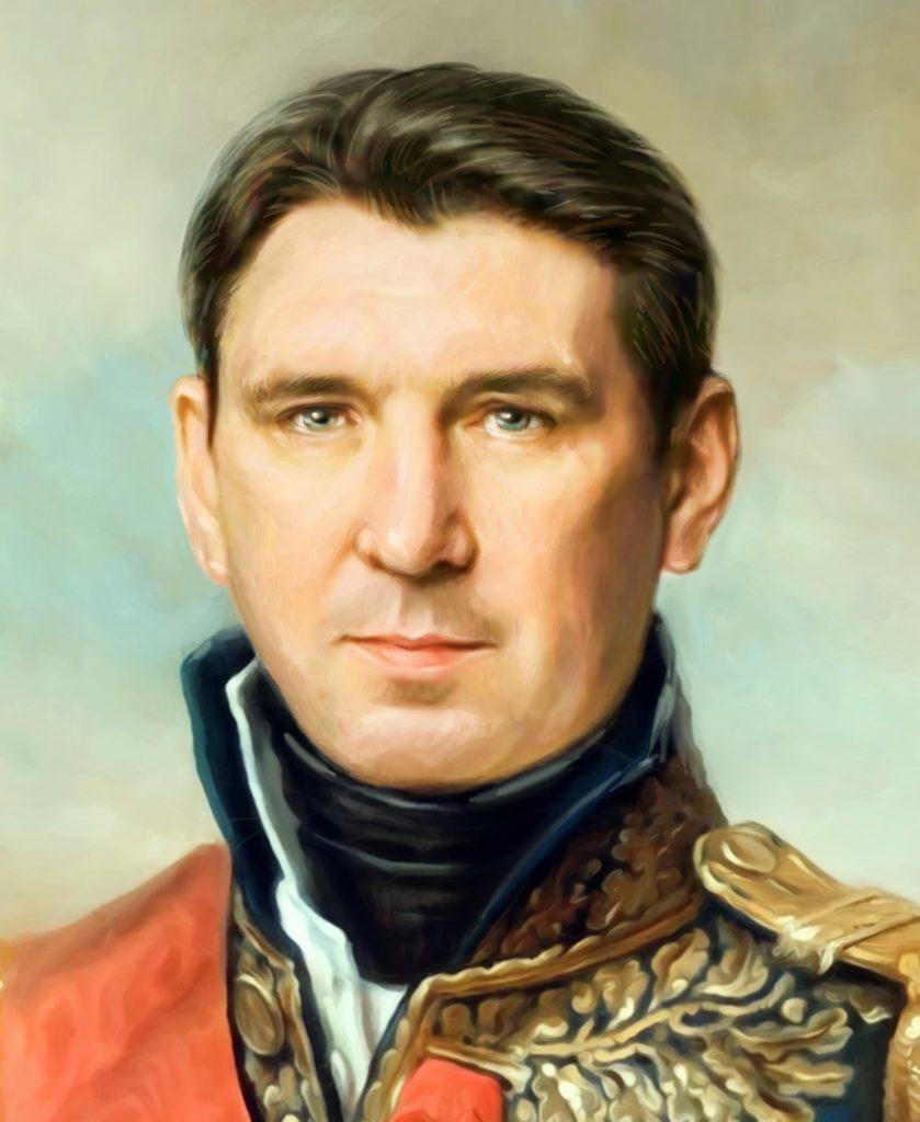 портрет по фото на холсте в подарок Уфа